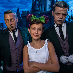 'Stranger Things' Star Millie Bobby Brown Enjoys a Day at Disney World!