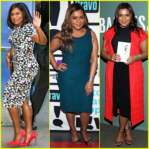 Mindy Kaling Hits NYC To Promote New Book 'Why Not Me?'!