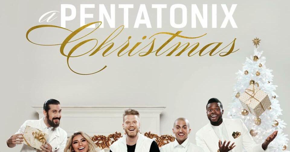 pentatonix christmas album debuts stream download newsies pentatonix just jared