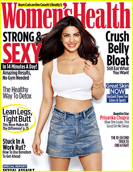 Priyanka Chopra Talks Feminism in 'Women's Health'