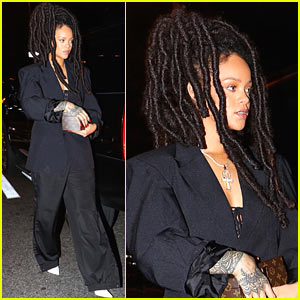 Rihanna Steps Out for a Pre-Weekend Dinner in NYC