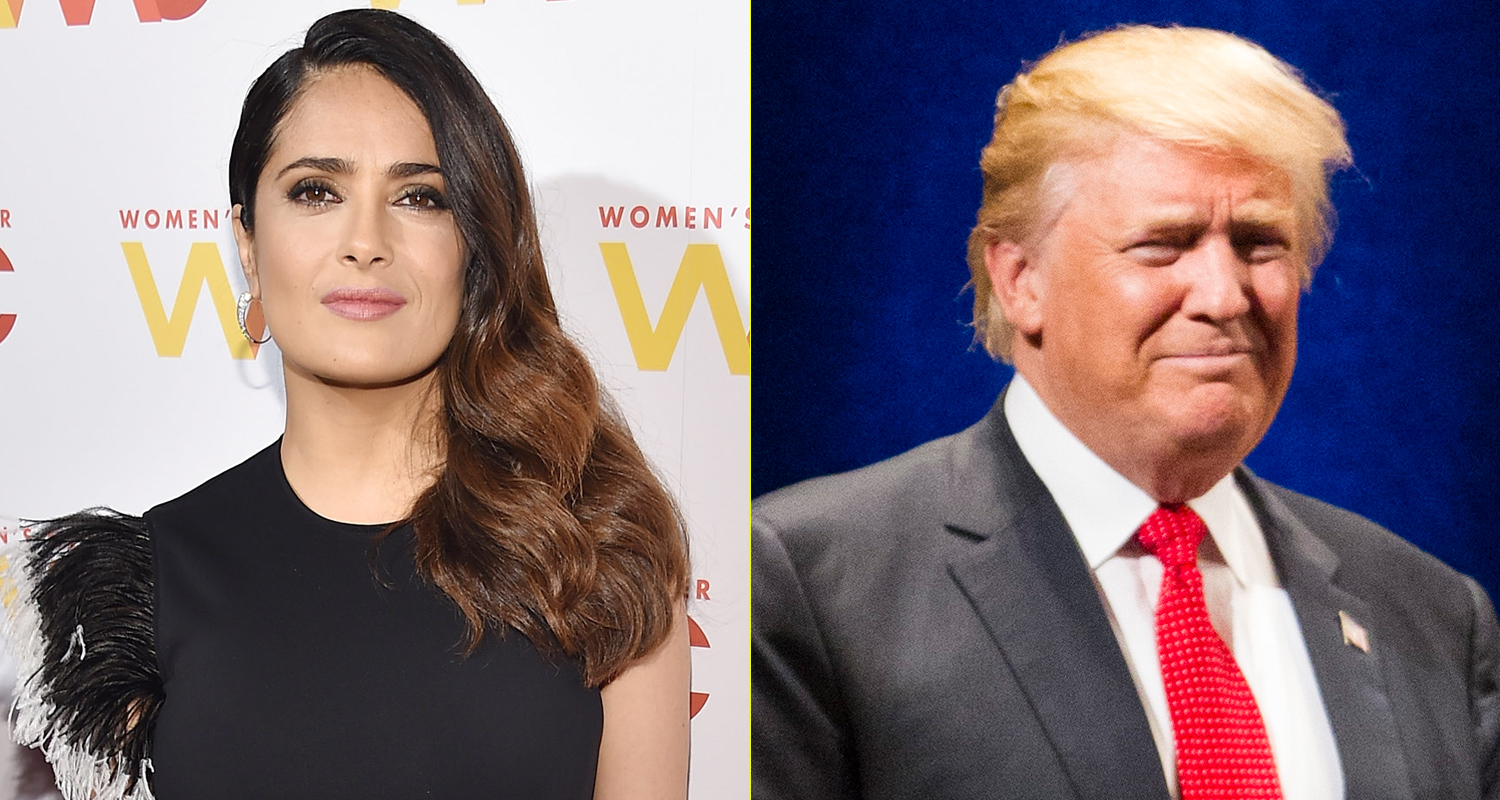 Donald Trump tried to get Salma Hayek to cheat on her boyfriend with him