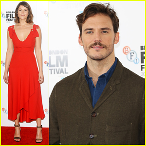 Sam Claflin & Gemma Arterton Bring 'Their Finest' To BFI London Film Fest!