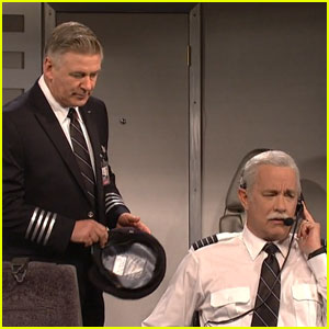 Tom Hanks Brings 'Sully' to 'SNL' With Alec Baldwin (Video)