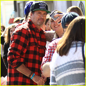 Gilmore Girls' Scott Patterson (aka Luke) Surprises Fans at Luke's Diner Pop Up!