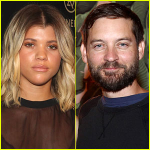 Tobey Maguire & Sofia Richie Photographed at Club Together
