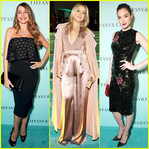 Sofia Vergara, Gal Gadot & Kate Hudson Stun At Tiffany & Co. Unveiling Celebration!