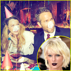 Taylor Swift is 'Drowning in Tears' After Seeing Blake Lively's Party for Hubby Ryan Reynolds