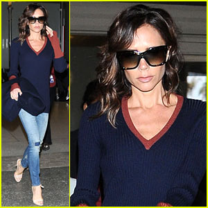 Victoria Beckham Discusses Hillary Clinton & Taking Son Brooklyn to Kenya