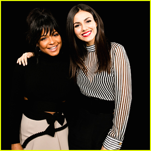 Victoria Justice & Christina Milian Promote 'Rocky Horror' In NYC Together