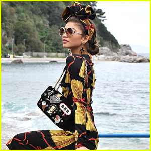 Zendaya Shoots Dolce & Gabbana's New Campaign in Italy