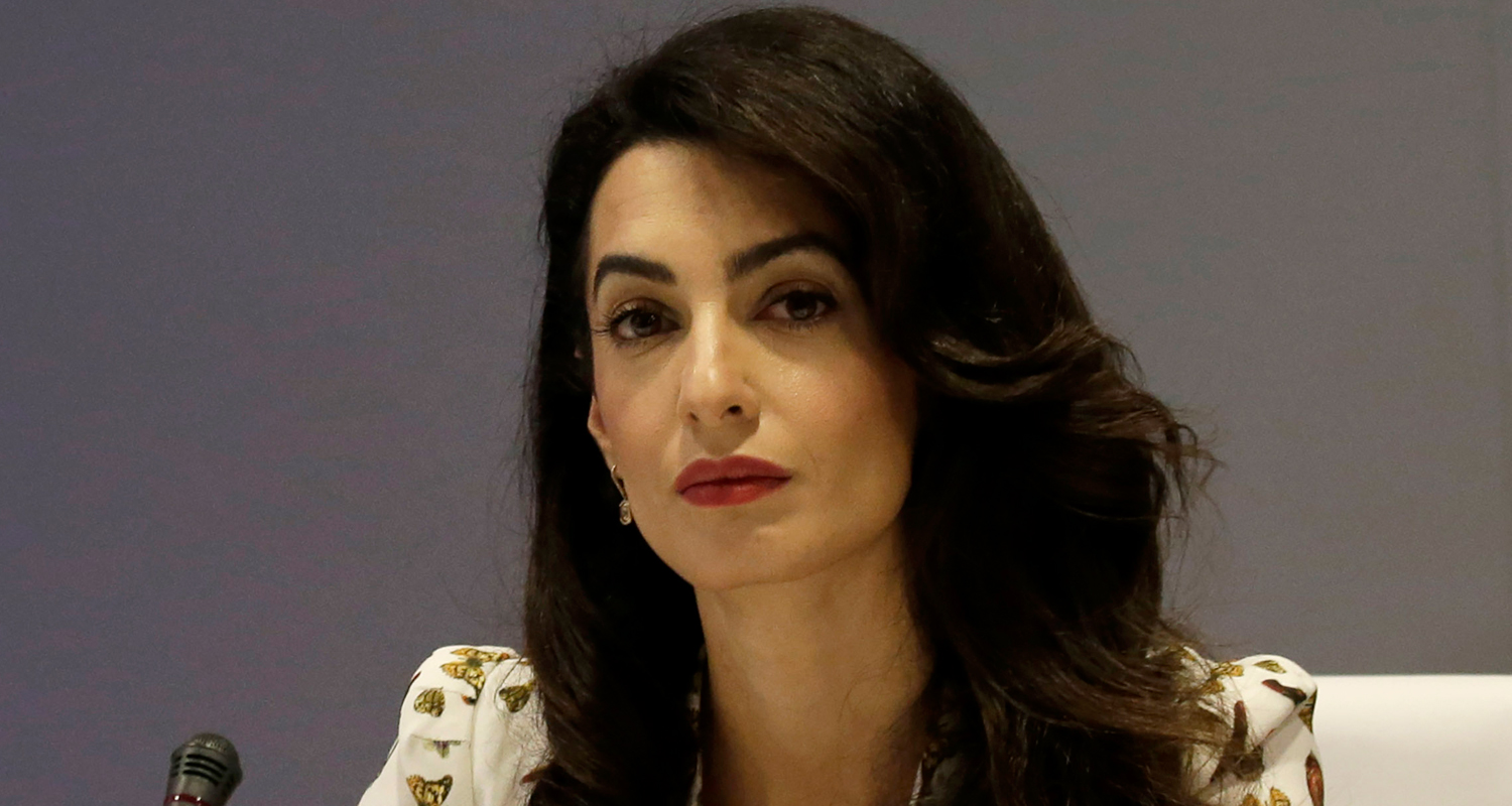 Amal Clooney Speaks Out Against Donald Trump's Ideas ...