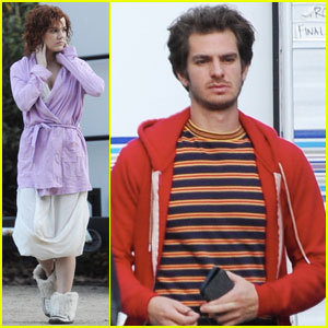 Andrew Garfield Continues Filming 'Under the Silver Lake'