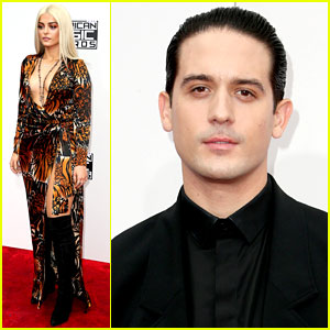 Bebe Rexha & G Eazy Walk the AMAs 2016 Red Carpet!