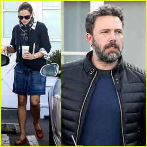 Ben Affleck & Jennifer Garner Have Breakfast Date With Son Samuel