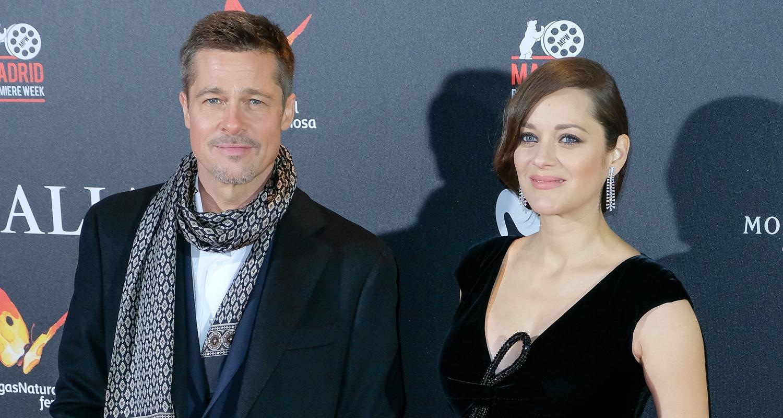Brad Pitt Marion Cotillard Bring Allied To Spain Brad Pitt