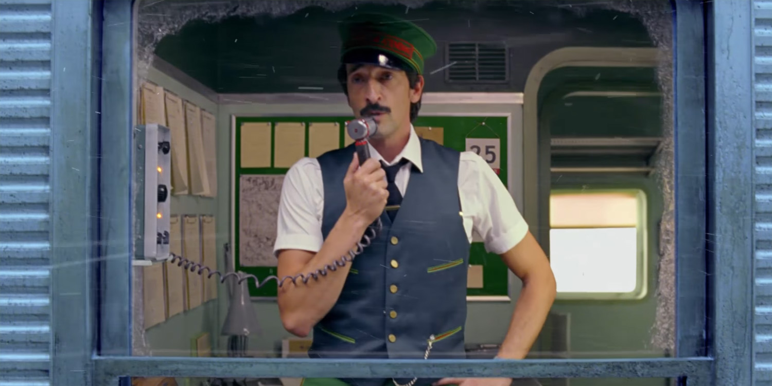 Adrien Brody Stars In HM Holiday Film Directed By Wes Anderson