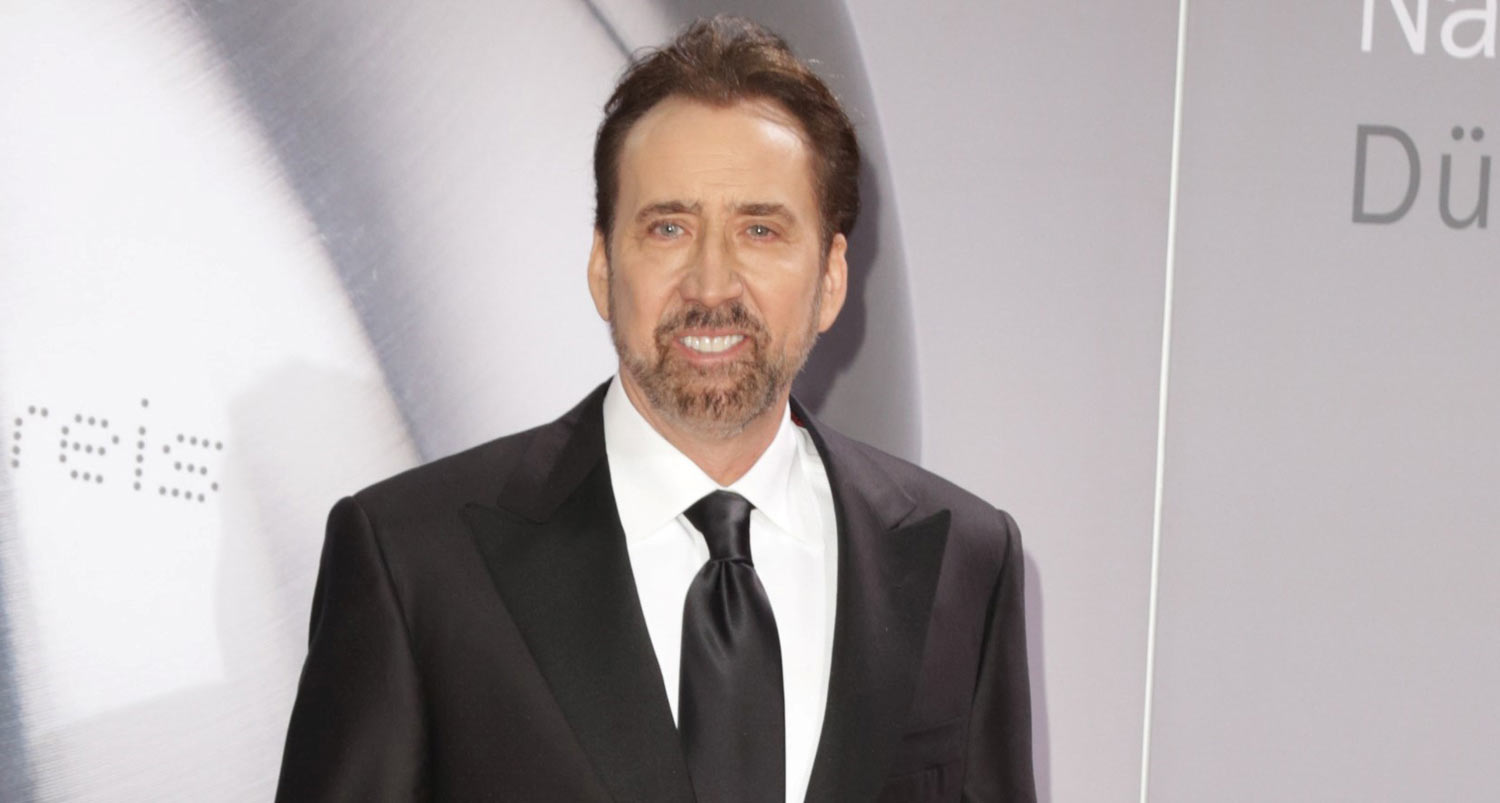 Nicolas Cage Suits Up for German Sustainability Award