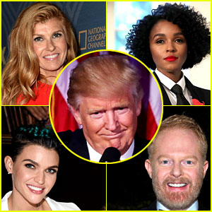 Celebs Send Love to Minorities After Trump Wins the Election