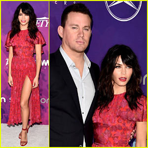 Channing Tatum Supports His StyleMaker Wife Jenna Dewan at Variety & WWD Event!