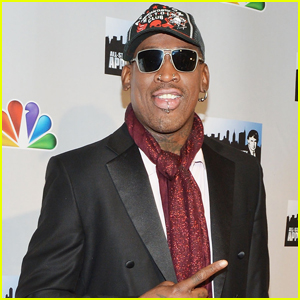 Dennis Rodman Charged with Hit-and-Run Following Car Crash