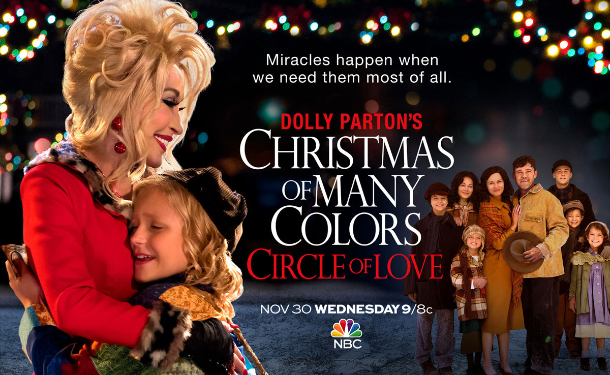 Dolly Parton's Christmas of Many Colors: Circle of Love – Full ...