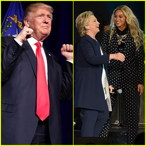 Donald Trump Says Beyonce Campaigning for Hillary Clinton is 'Almost Like Cheating'