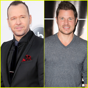 Donnie Wahlberg & Nick Lachey Teaming Up to Produce Boy-Band TV Show