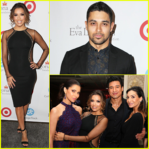 Eva Longoria Gets Star-Studded Support At Eva Longoria Foundation Dinner 2016!