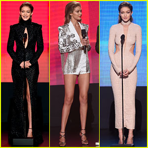 PHOTOS: Gigi Hadid Wears So Many Chic Looks at AMAs 2016