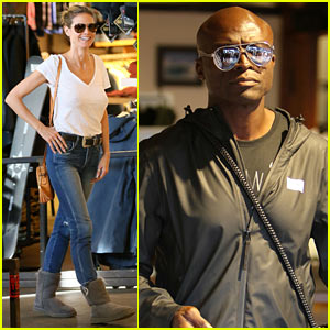Heidi Klum & Ex-Husband Seal Take Their Kids Shopping for Winter Gear