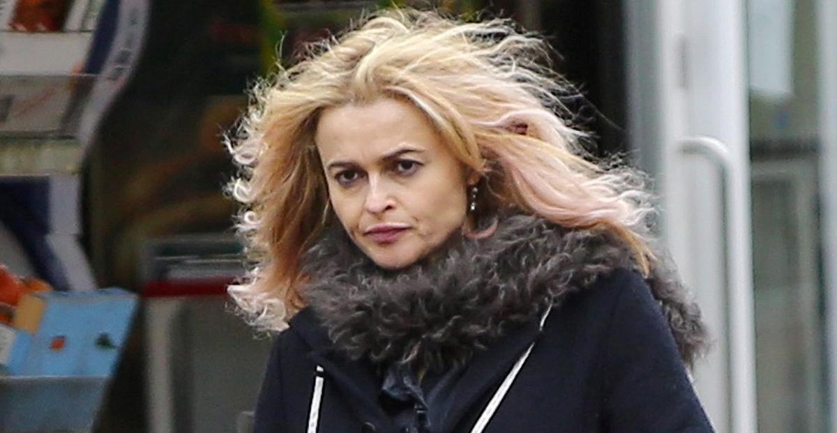 Helena Bonham Carter Is Still Rocking Her Blonde Hair! | Helena Bonham ... Helena Bonham Carter