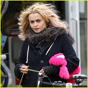 Helena Bonham Carter Is Still Rocking Her Blonde Hair!