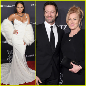Hugh Jackman & Deborra Lee Furness Couple Up at Angel Ball