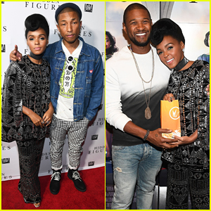 Janelle Monáe & Pharrell Williams Debut New Music From 'Hidden Figures' - Stream 'Crave' & 'I See a Victory' Here!