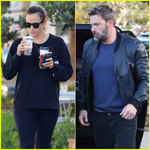 Jennifer Garner & Ben Affleck Take Their Kids Trick-or-Treating!