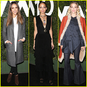 Jessica Alba, Nicole Richie & Jaime King Hit Up Who What Wear 10th Anniversary #WWW10 Experience!