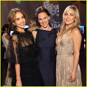 Jessica Alba, Jennifer Garner, & Kate Hudson Stun at Baby2Baby Gala!
