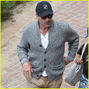 Jon Hamm Steps Out After Discussing Talk of His Manhood