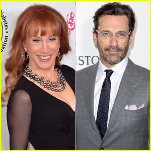 Kathy Griffin: 'You'll Never Convince Me to Like Jon Hamm'
