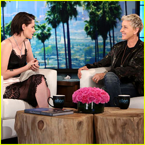 VIDEO: Kristen Stewart Reflects on Her 'Twilight' Days for 'Ellen'