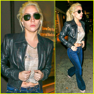 Lady Gaga Enjoys a Night on the Town in NYC