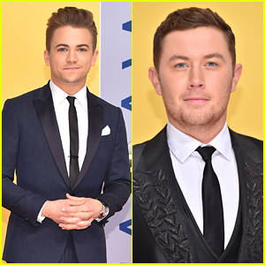 Hunter Hayes & Scotty McCreery Suit Up For CMA Awards 2016