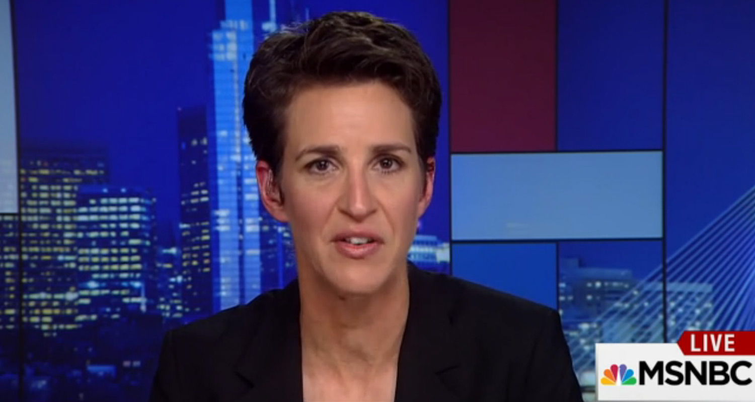 Rachel Maddow Gets Emotional While Discussing Mike Pences Anti Gay