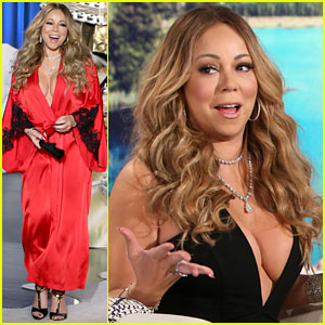 VIDEO: Mariah Carey Discusses James Packer Split: 'It's a Whole Friggen Thing'