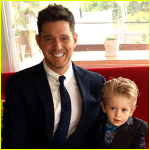 Michael Buble's Son Noah is Getting a Hatchimal for Christmas!