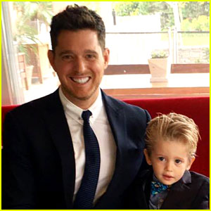 Michael buble gives update on son noahs cancer battle celebrity michael bubles 3 year old son noah diagnosed with cancer m4hsunfo
