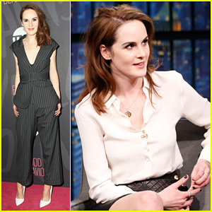 VIDEO: Michelle Dockery Has Names For All Her Wigs In New Series 'Good Behavior'