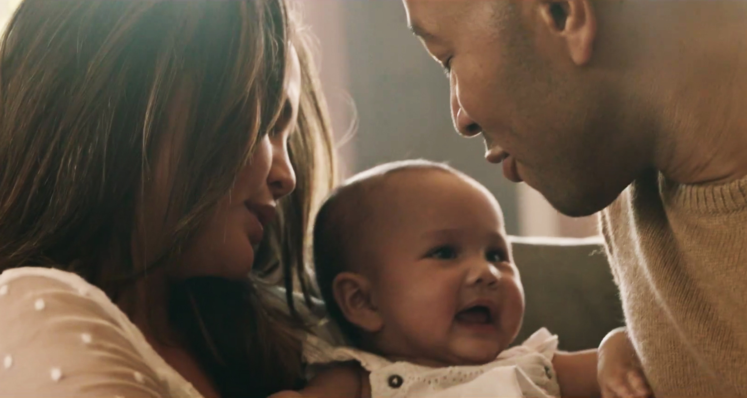 Music Video: John Legend & Chrissy Teigen Share Loving Moments With Daughter Luna In 'Love Me Now' – WATCH! | Celebrity Babies, Chrissy Teigen, John Legend, Luna Stephens, Music, Music Video : Just Jared