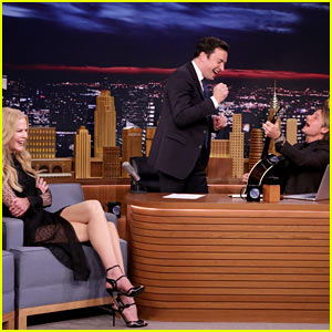 VIDEO: Nicole Kidman Reminds Jimmy Fallon He Turned Her Down Twice, Keith Urban Steps In!